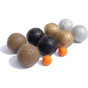 Boules for soft pétanque
