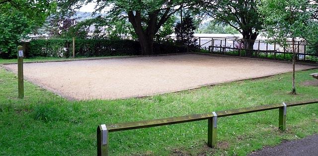 How to build a petanque court all about petanque for Dimension d un terrain de tennis